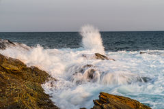Storm on the Indian Ocean. Royalty Free Stock Photography