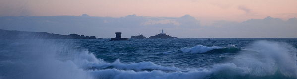 Storm in jersey royalty free stock photography
