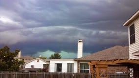 Storm komst royalty-vrije stock fotografie