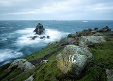 Storm at Lands End Stock Photography
