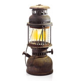 Storm lantern isolated Stock Images