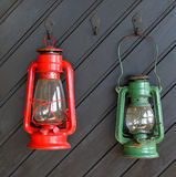 Storm lanterns. Stock Photos