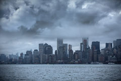 Storm in Manhattan. Stock Photography