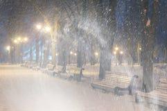 Storm in Mariinsky Park stock images