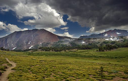 Storm in the Mountains royalty free stock photo