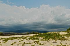 Storm mountains Hawaii Stock Photo