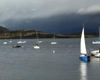 Storm nähernder See Granby Lizenzfreies Stockbild