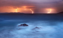 Storm night Royalty Free Stock Photography