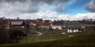 Storm Niklas Stock Image