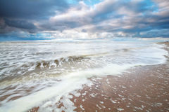 Storm on North sea Royalty Free Stock Image