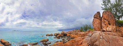 Storm at ocean Stock Photos