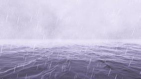 Storm in the Ocean stock video