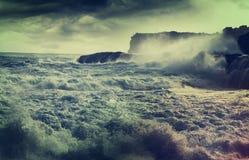 Storm in ocean Stock Images