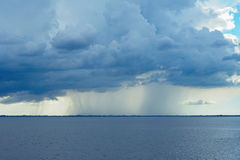 Storm on ocean Royalty Free Stock Images