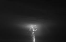 Storm och blixt Royaltyfri Fotografi