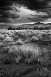 Storm Over Abiquiu Royalty Free Stock Photo