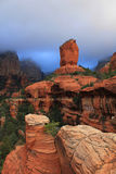 Storm Over Boynton Canyon Near Sedona, AZ Royalty Free Stock Photography