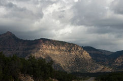 Storm over the Canyon Stock Photos