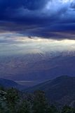 Storm over the Eastern Sierra Nevada Royalty Free Stock Images