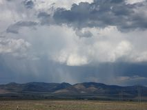 Storm over the Mountains Royalty Free Stock Photography