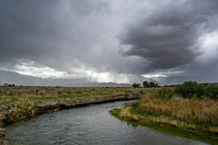 Storm Over Owens Valley Royalty Free Stock Image