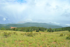 Storm over Pikes Peak Stock Photography
