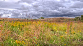 Storm over the Prairies Royalty Free Stock Photography