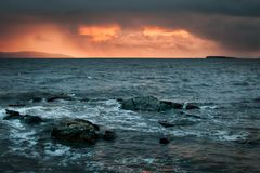 Storm over Salthill