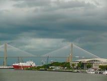 Storm over Savannah Royalty Free Stock Photo