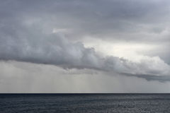Storm over the sea Royalty Free Stock Photography