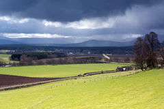 Storm over Speyside Stock Photos