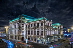 Storm over Vienna Stock Photos