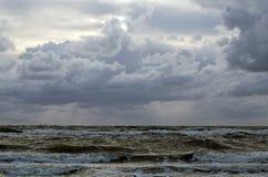 Storm på Östersjön arkivbilder