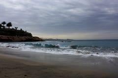Storm på havet Royaltyfria Foton