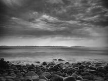 Storm på horisonten Royaltyfri Foto