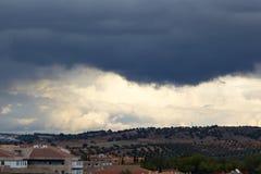Storm på horisonten royaltyfri fotografi
