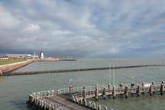 Storm på horisonten Royaltyfria Bilder