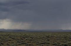 Storm på slättar Arkivfoton