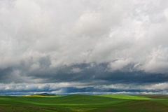 Storm in the Palouse Royalty Free Stock Image