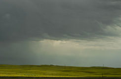 Storm on Plains Royalty Free Stock Photos