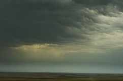 Storm on Plains Stock Photography