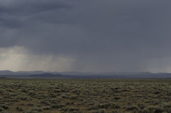 Storm on Plains Stock Photos