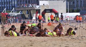 Storm Race Gijon. Stock Photography