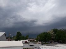Storm cloud ashland missouri. Storm Rollin in stock photos