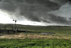 Storm Rolling In Royalty Free Stock Photo