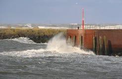 Storm in Scheveningen Stock Images