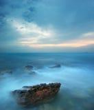Storm in sea Stock Photos