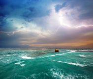 Storm on the sea Royalty Free Stock Images