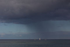 Storm at sea Stock Photography