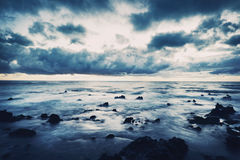 Storm on the Sea Royalty Free Stock Photos